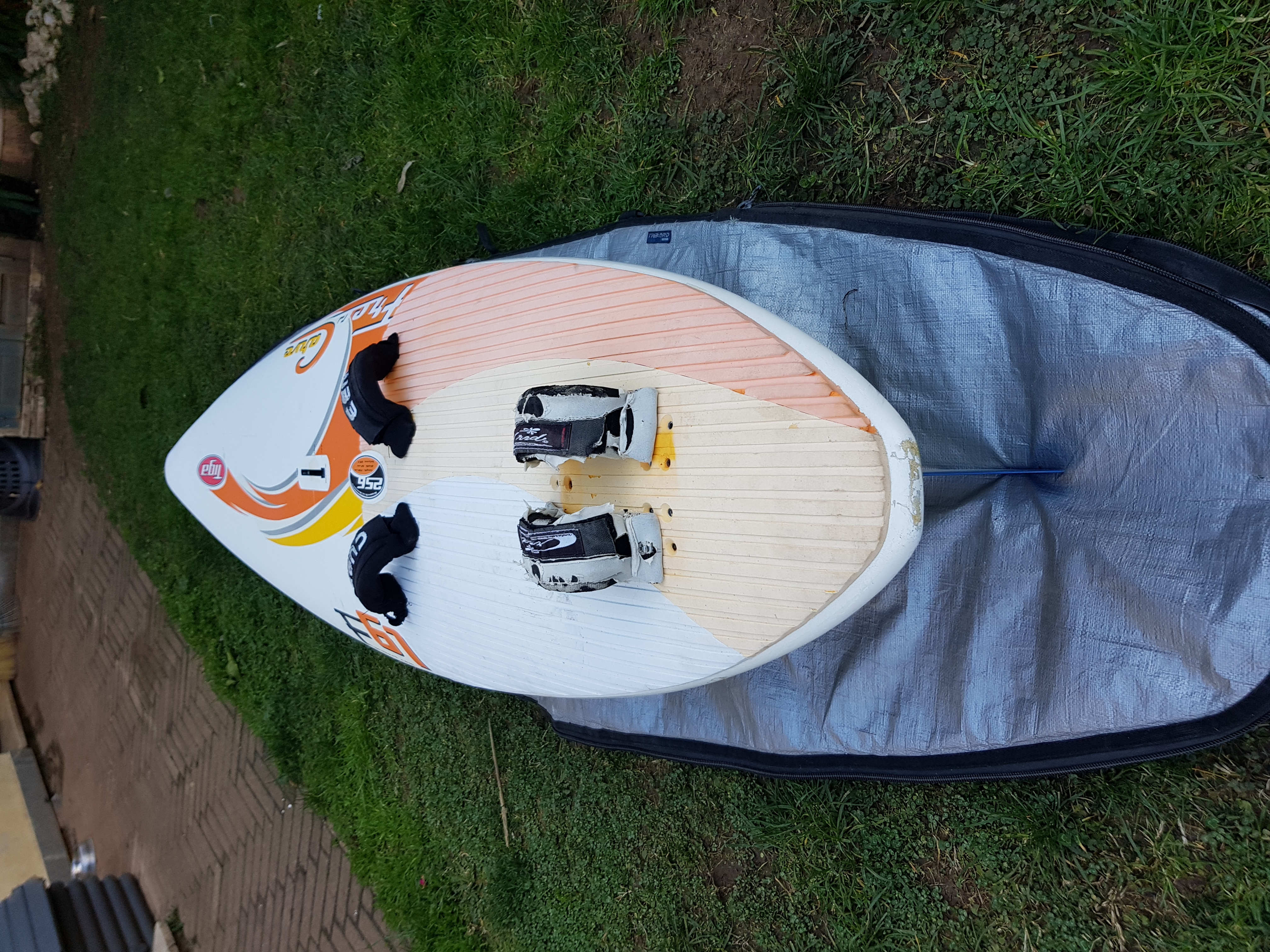 Board windsurf - Tiga Free Carve 105 lt